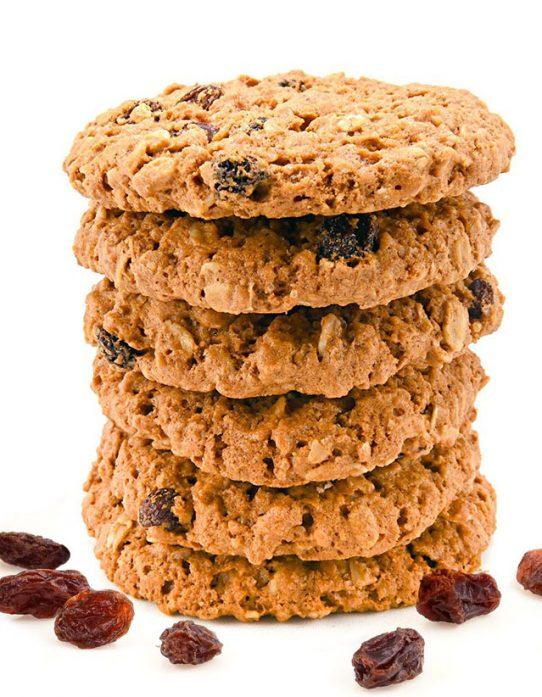 torre de galletas de avena integral Nutrisnacks