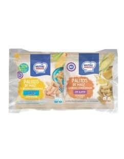 Pack de palitos mixtos de maíz y queso Nutrisnacks