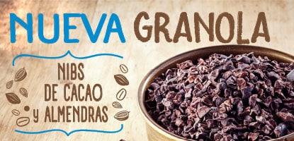 Nueva Granola Cacao Nibs