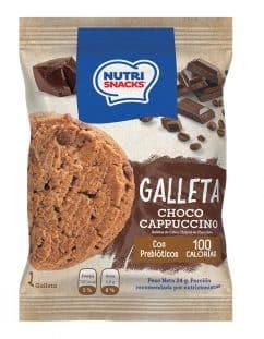 Galleta exótica Choco Cappuccino Nutrisnacks con Prebióticos y 100 calorias