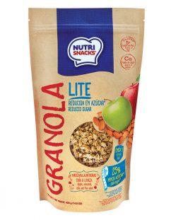 Granola Nutrisnacks Lite Manzana y Almendras 420g
