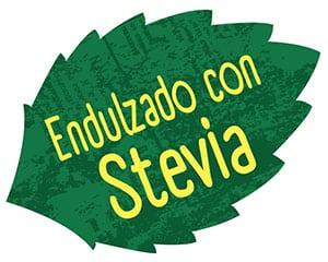 Endulzado con Stevia