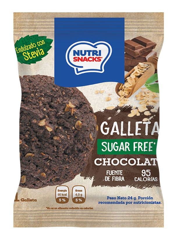 Galleta de Chocolate Sin Azúcar