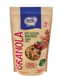 Granola Nutrisnacks Sin Azúcar Agregado 420g