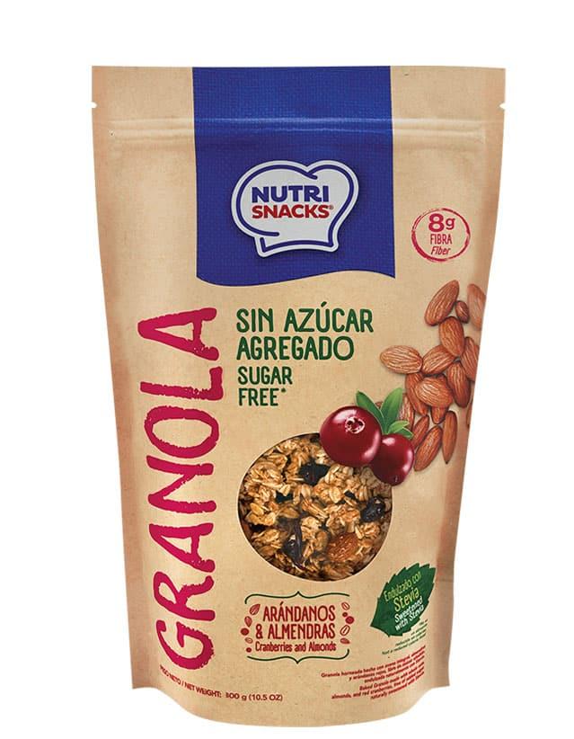 Granola Sin Azúcar Agregado 420g