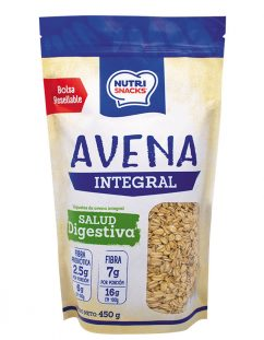 Avena Integral Nutrisnacks