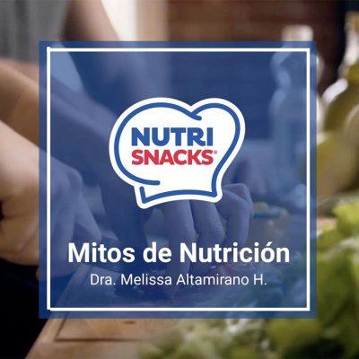 Mitos de Nutrición por la doctora Melissa Altamirano