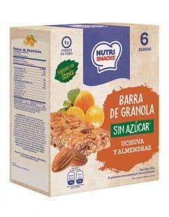 Barra de granola Sin Azúcar uchuva y almendras caja 150g