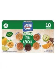 18 pack galletas surtidas sin azúcar Nutrisnacks