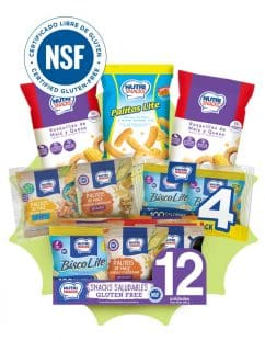 Combo gluten free Nutrisnacks