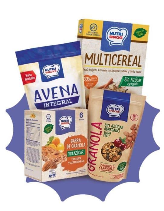 Combo desayuno sin azúcar Nutrisnacks