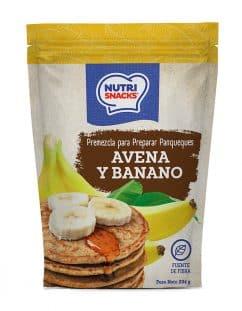 Premezcla para pancakes de avena y banano