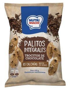palitos de ajonjolí con trocitos de chocolate 100g
